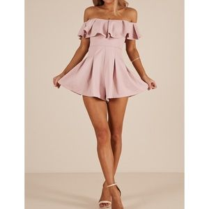NWT Solaris Style Contain My Love Playsuit Romper